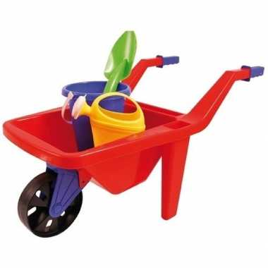 Speelgoed kruiwagen zandbak setje 65 cm prijs