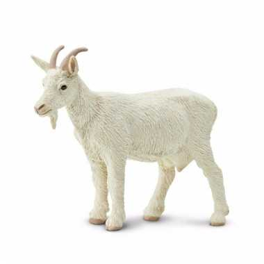 Speelgoed nep witte geit 8 cm prijs