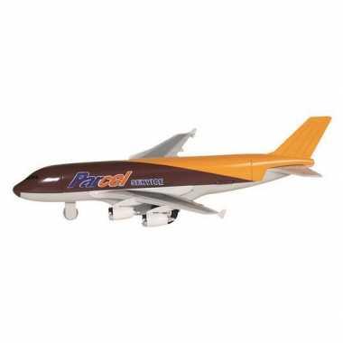 Speelgoed vliegtuigje metaal bruin 19 prijs
