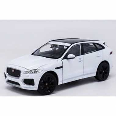 Speelgoedauto jaguar f-pace wit 1:34 prijs