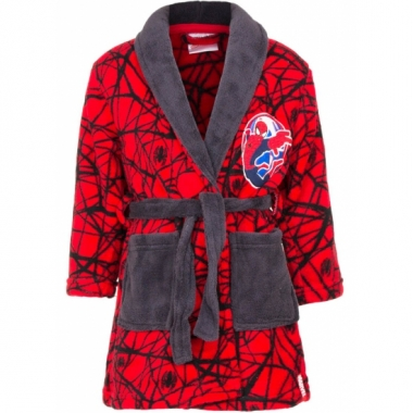 Spiderman badjas rood prijs