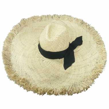 Strohoed ibiza style geba voor dames prijs