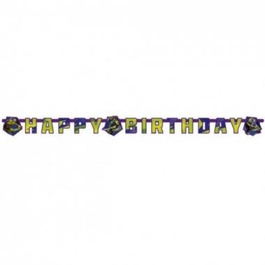Vergelijk teenage mutant ninja turtles happy birthday letter banner prijs