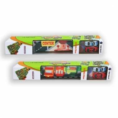 Twee autootjes met speelkleed city 80 x 70 cm prijs