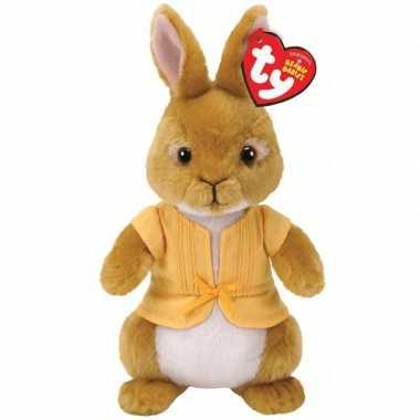 Ty beanie pieter konijn mopsie knuffel konijn/haas 15 cm prijs