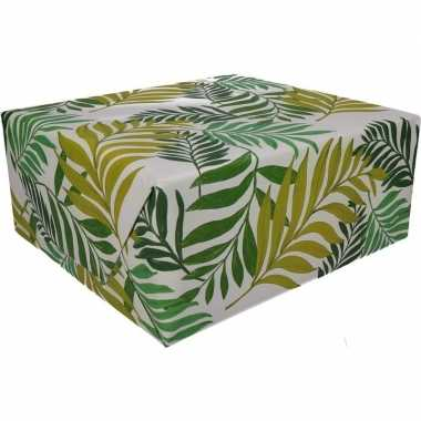Urban jungle cadeaupapier 70 x 200 cm prijs