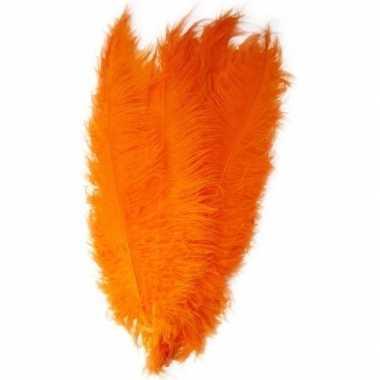 Verkleed spadonis sierveer oranje 50 cm prijs