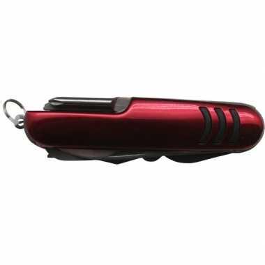 Voordelig benson zakmes rood 11 functies prijs