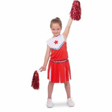 Voordelig cheerleader kostuum voor meisjes prijs