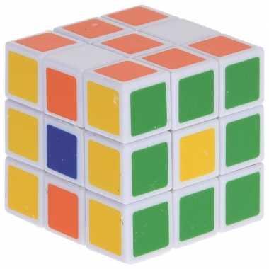 Voordelig kubus spelletje 5 cm prijs