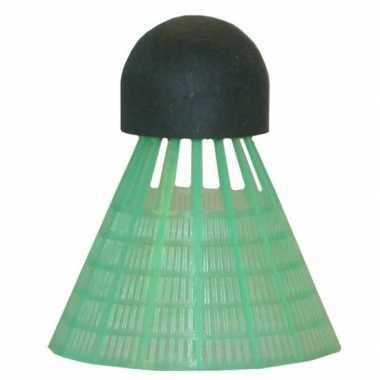 Voordelige badminton reserve shuttles groen 6 stuks prijs