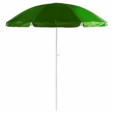 Voordelige strandparasol groen 200 cm diameter prijs