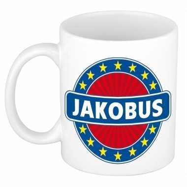 Voornaam jakobus koffie/thee mok of beker prijs