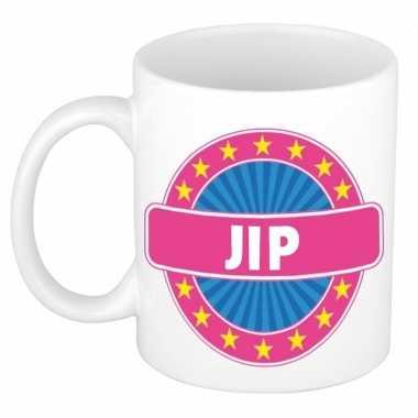 Voornaam jip koffie/thee mok of beker prijs