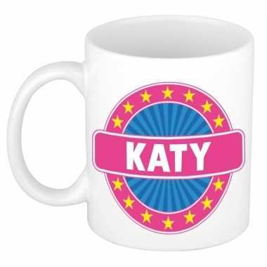 Voornaam katy koffie/thee mok of beker prijs