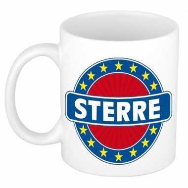 Voornaam sterrekoffie/thee mok of beker prijs