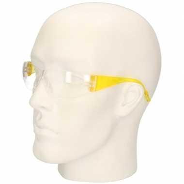 Vuurwerkbril geel voor kinderen prijs