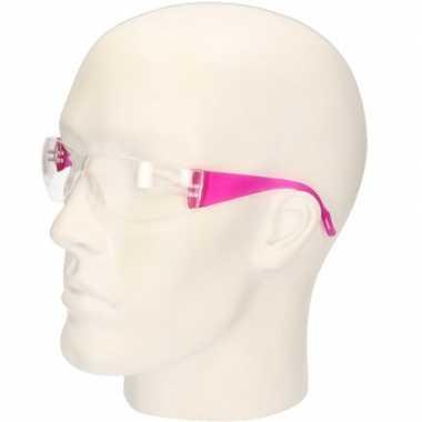 Vuurwerkbril roze voor kinderen prijs