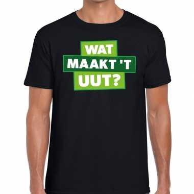 Wat maakt t uut zwarte cross t-shirt zwart voor heren prijs