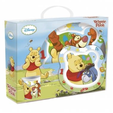 Vergelijk winnie de pooh kinder servies 3 delig prijs
