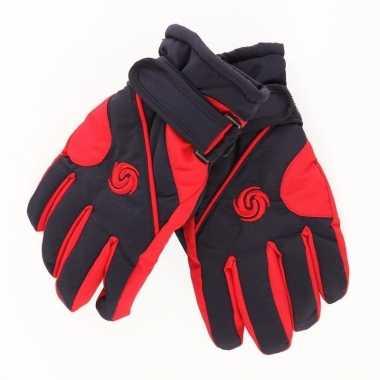 Winter handschoenen voor jongens rood/donkerblauw prijs