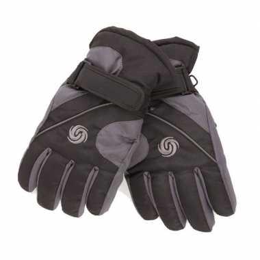 Winter handschoenen voor jongens zwart/donkergrijs prijs