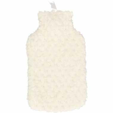 Winter kruik met witte pluche hoes 2 liter prijs