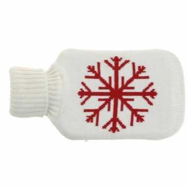 Witte kruik met sneeuwvlok prijs