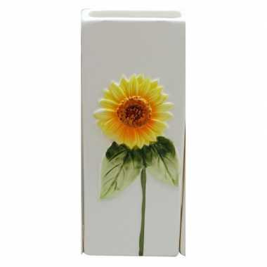 Witte verwarming verdamper zonnebloem 20 cm prijs
