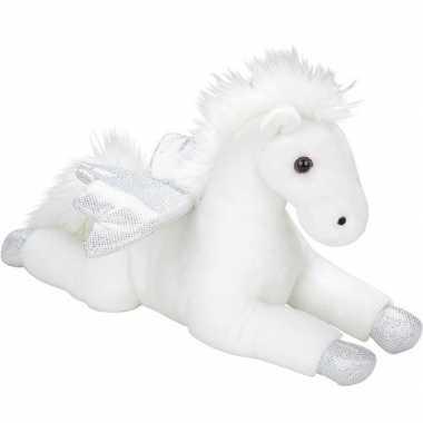 Witte vliegende paarden knuffels 35 cm knuffeldieren prijs