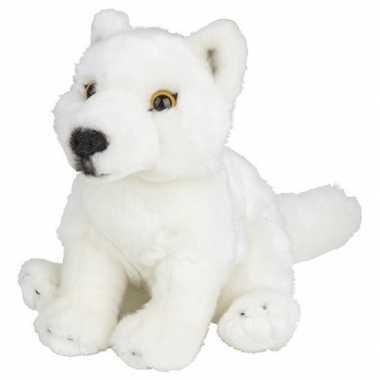 Witte wolven knuffels 18 cm knuffeldieren prijs