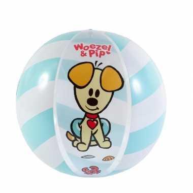 Woezel en pip strandballen opblaasbaar 50 cm prijs