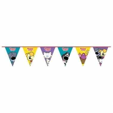 Woezel en pip verjaardag vlaggenlijn 4 meter prijs