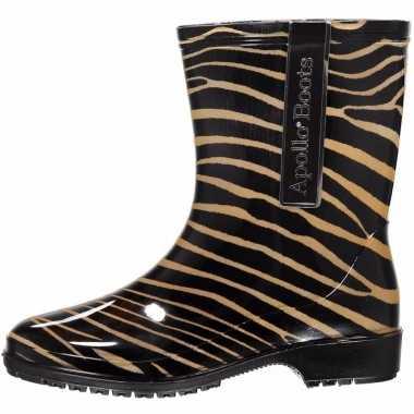 Zebra motief regenlaarzen voor meiden maat 37 prijs