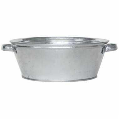 Zilveren drankkoeler/ijsemmer 9 liter rond prijs