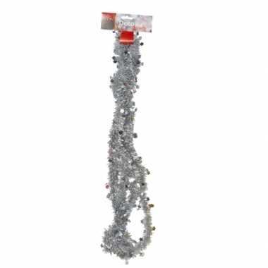 Zilveren feestslinger 270 cm prijs