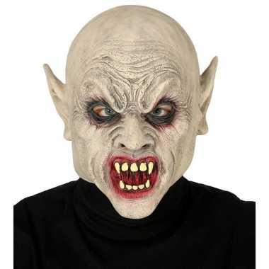 Zombie horror/halloween masker van latex prijs