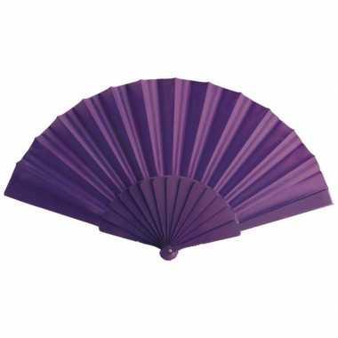 Zomerse waaier paars 23 cm prijs