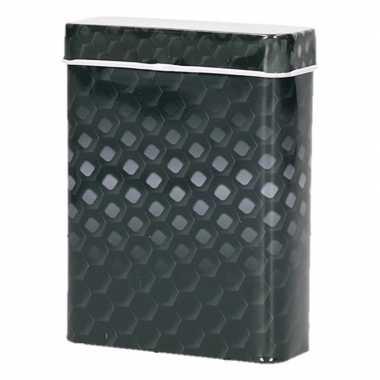 Zwart/grijze metalen sigaretten blikjes prijs