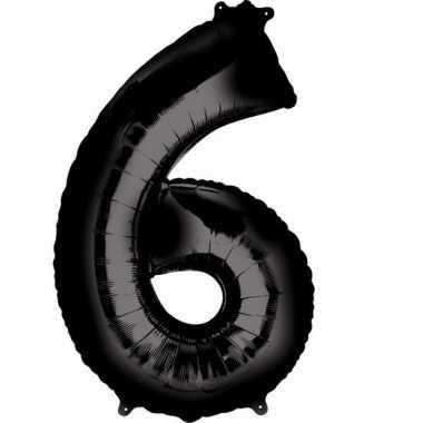 Zwarte ballon 6 jaar prijs