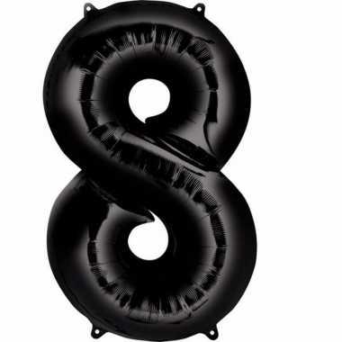 Zwarte ballon 8 jaar prijs