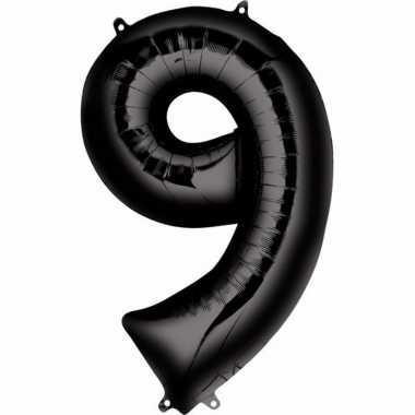Zwarte ballon 9 jaar prijs