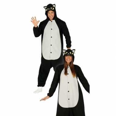 Zwarte kat/poes verkleed kostuum voor dames prijs