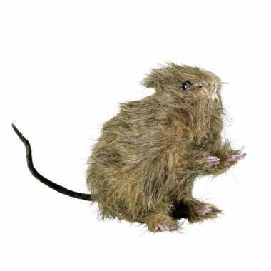 Zwarte nep rat met kraalogen prijs