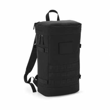 Zwarte rugtas voor wandelaars/backpackers 21 liter prijs