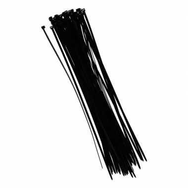 Zwarte tiewraps 40 cm 50 stuks prijs