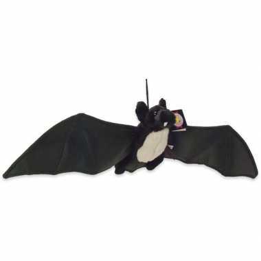 Zwarte vleermuis/vleermuizen knuffels 22 cm knuffeldieren prijs
