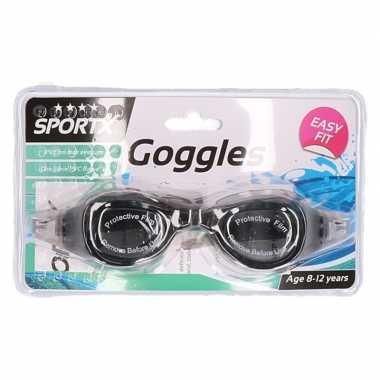 Zwembril voor kinderen zwart prijs