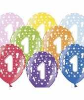 Vergelijk 1 jaar ballonnen met sterren prijs