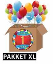 Vergelijk 1 jaar feestartikelen pakket xl prijs